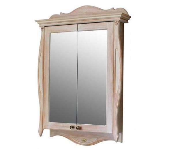 Зеркальный шкаф Ривьера apricot