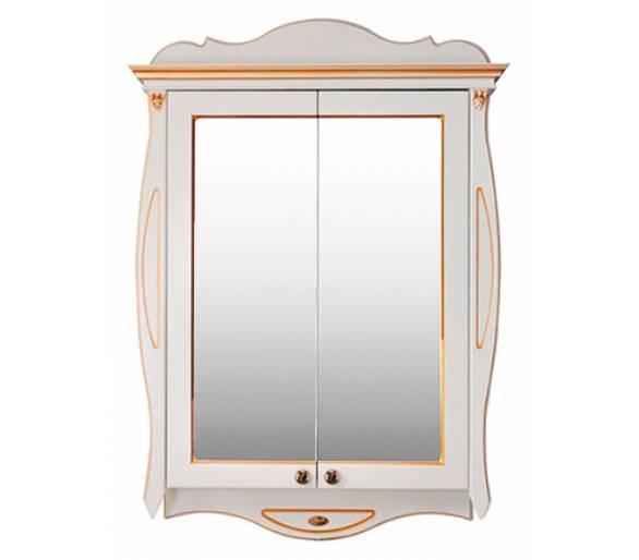 Зеркальный шкаф Ривьера dorato