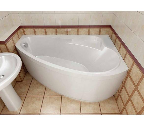 Акриловая ванна Тритон Пеарл-Шелл 160*104 левая