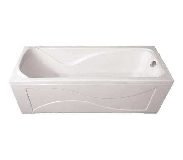Акриловая ванна Тритон Джулия 160*70 + панель + ножки