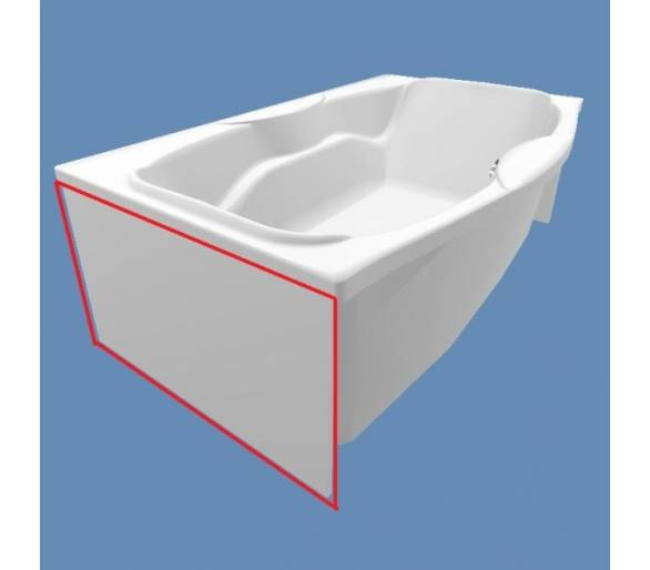 Торцевая панель для ванн Тритон