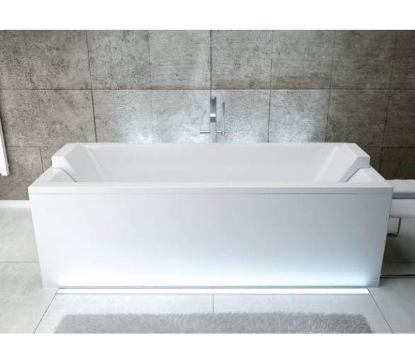 Акриловая ванна BESCO QUADRO 180X80 см.