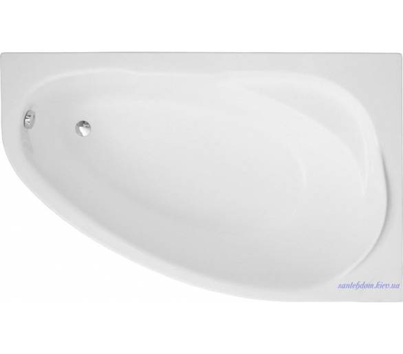 Акриловая ванна Polimat Marea 150x100 см.