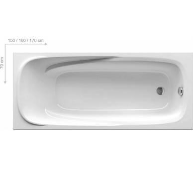 Акриловая ванна Ravak Vanda II