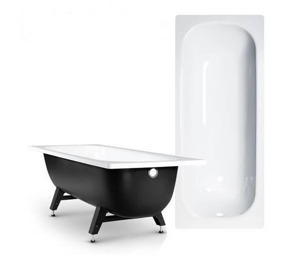 Стальная полимерная ванна Reimar 160*70