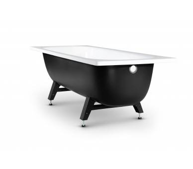 Стальная полимерная ванна Reimar 120*70