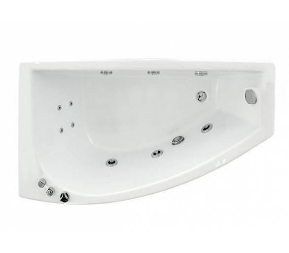 Гидромассажная ванна Тритон Бэлла 140*76 правая