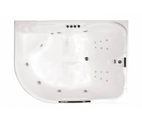 Гидромассажная ванна Тритон Респект 180*130 левая