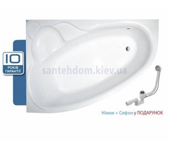 Акриловая ванна Koller Pool Nadine 170х100 L/R