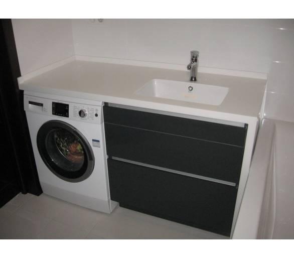 Мебель для ванной под заказ 5