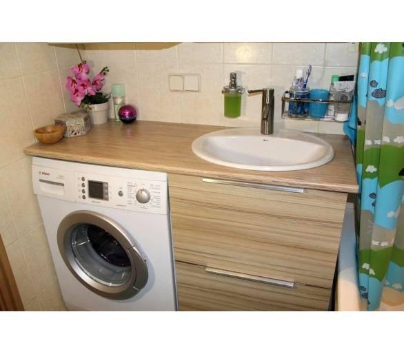 Мебель для ванной под заказ 7