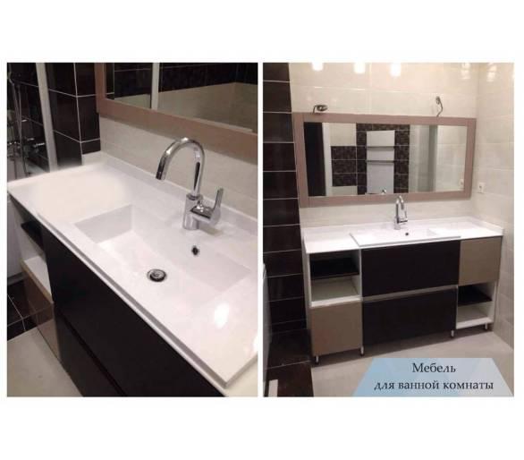 Мебель для ванны под заказ 30