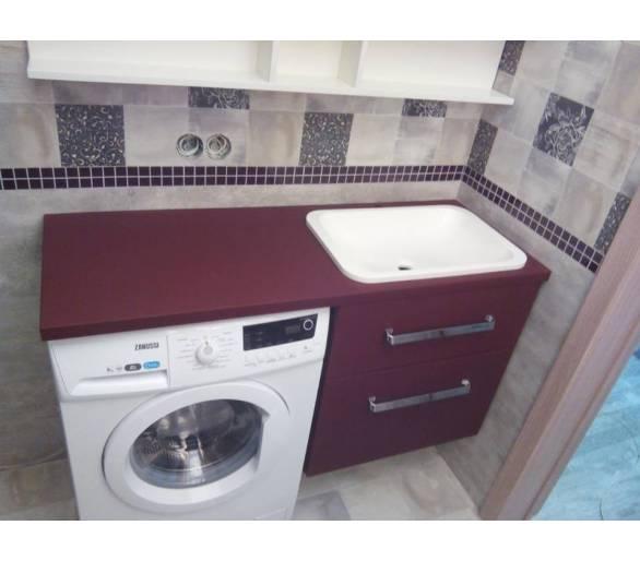 Мебель для ванны под заказ 35