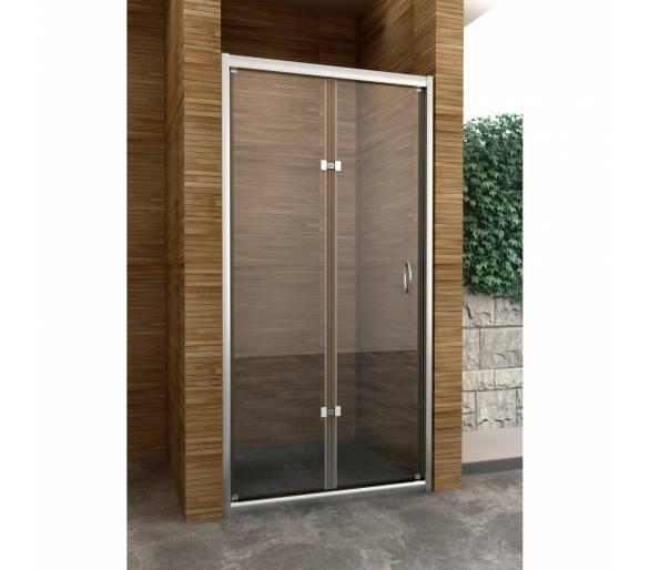 Перегородка для душа (складная дверь) BI-FOLD (800*1900), BF80S (Im)