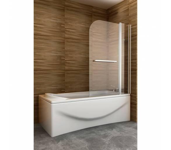 Перегородка для ванной (распашная дверь) PIVOT (1200*1400), PV120B (Im)