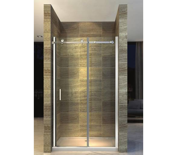 Перегородка душа раздвижная дверь ROLLER RL120S(Tr), 1200х1900mm