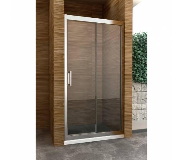 Перегородка для душа (раздвижная дверь) SLIDING (1000*1900), SL100S (Im)