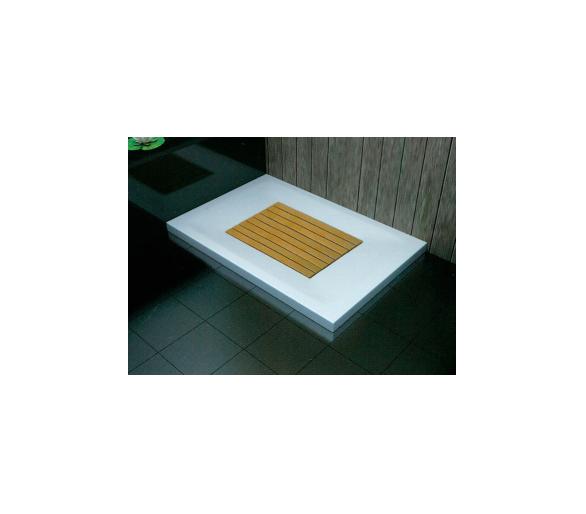 Поддон для душа полимерно-композитный прямоугольный 1000*800*65 WST10080Q(деккинг)