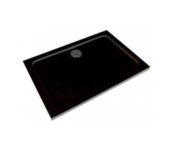 Поддон для душа полимерно-композитный прямоугольный 1000*800*50 ST10080Q black