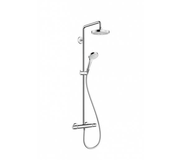 Croma Select S 180 2jet Showerpipe Душевая система цв белый