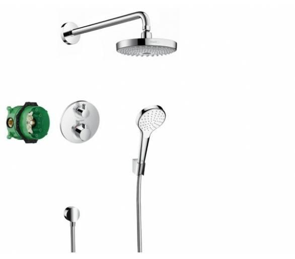 ShowerSet Croma Select S/Ecostat S Душевой набор (верхний, ручной душ, ibox, термостат)
