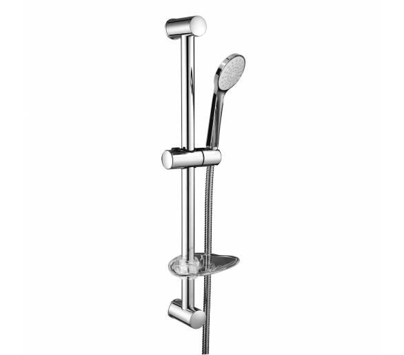 NEMO штанга душевая L-67см,мыльница,ручной душ 1 режим,шланг 1,5м