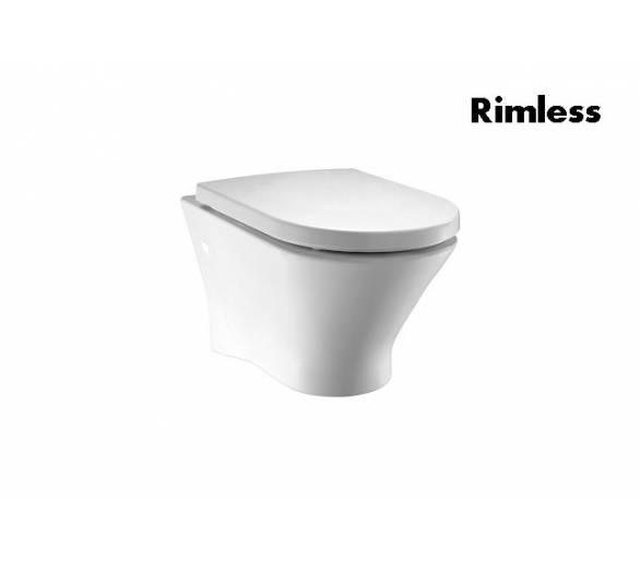 Подвесной унитаNEXO Rimless з с сиденьем slow-closing (в упак.)