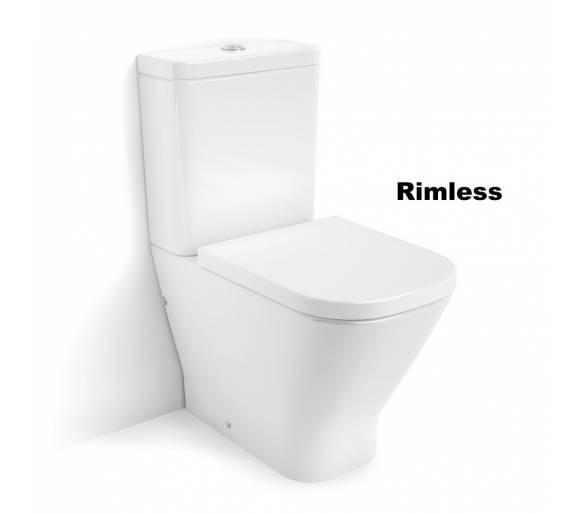 Компакт напольный GAP Rimless с сиденьем slow closing