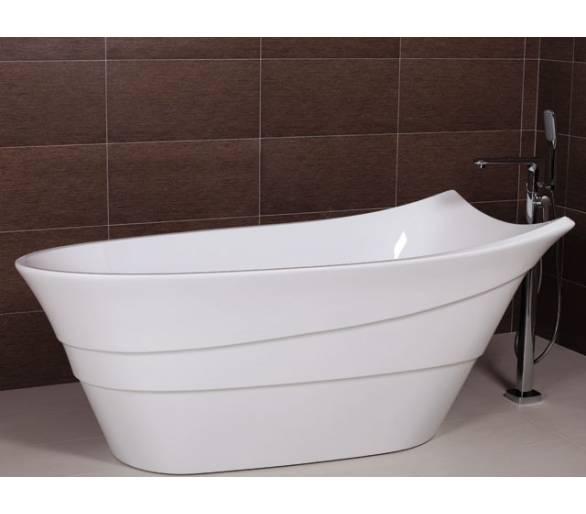 Ванна отдельностоящая акриловая 173*78 см. AW493A с сифоном