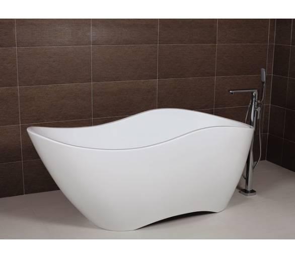 Ванна отдельностоящая акриловая AW483 175*78  с сифоном