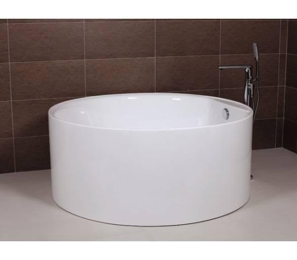 Ванна отдельностоящая акриловая AW502 D-1400*600 AW502 с сифоном D-4