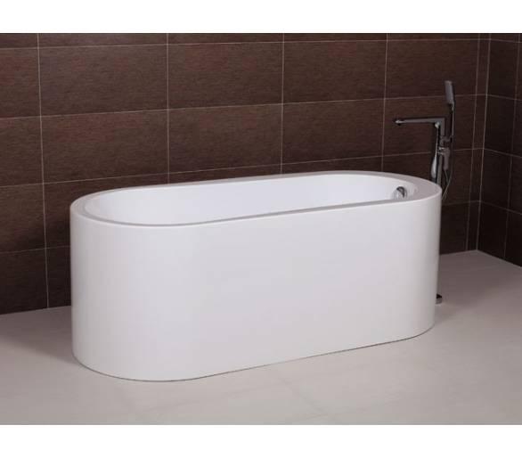 Ванна отдельностоящая акриловая AW512 168*72 с сифоном