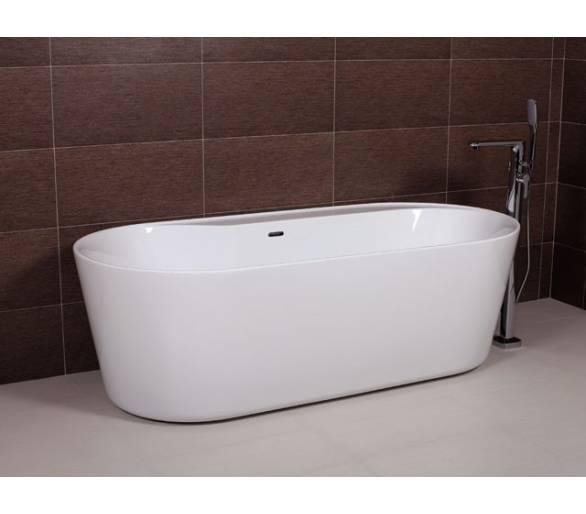 Ванна отдельностоящая акриловая AW525 180*85 с сифоном