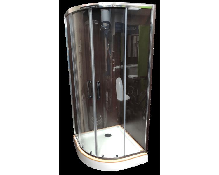 Душевая кабина Veronis KN-3-90 90х90 Premium прозрачная