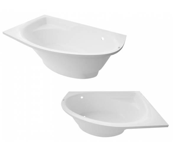 купить ванну из искусственного камня Рок-Дизайн Лагуна L/R 162*100 купить со скидкой