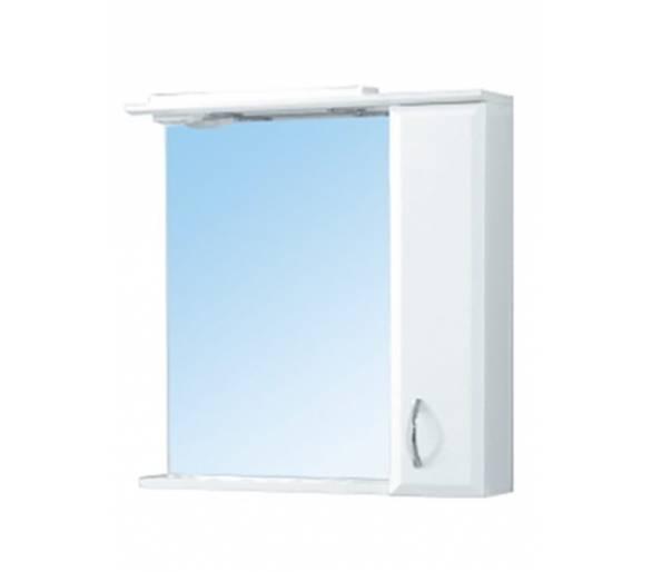 Зеркало для ванной Мойдодыр Фокус 70 см.