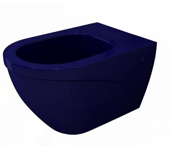 Биде подвесное TAORMINA ARCH глянец. сапфир синий