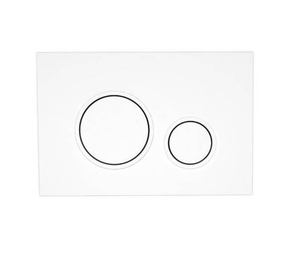Кнопка в инсталл. системы, белый MAGRE