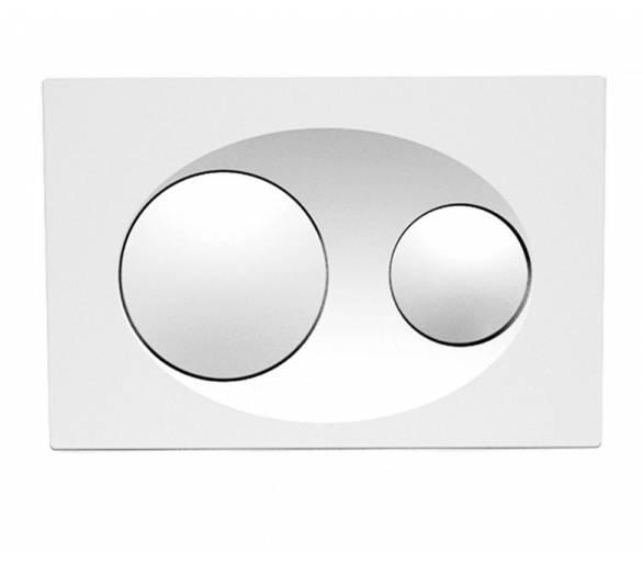 Кнопка в инсталл. системы, белый SAVIO