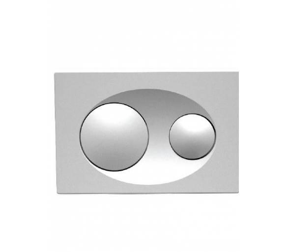 Кнопка в инсталл. системы, блеск. хром SAVIO
