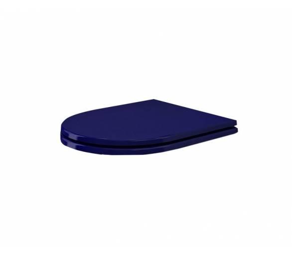 Сиденье для унитаза TAORMINA CAPRI синий дюроп.