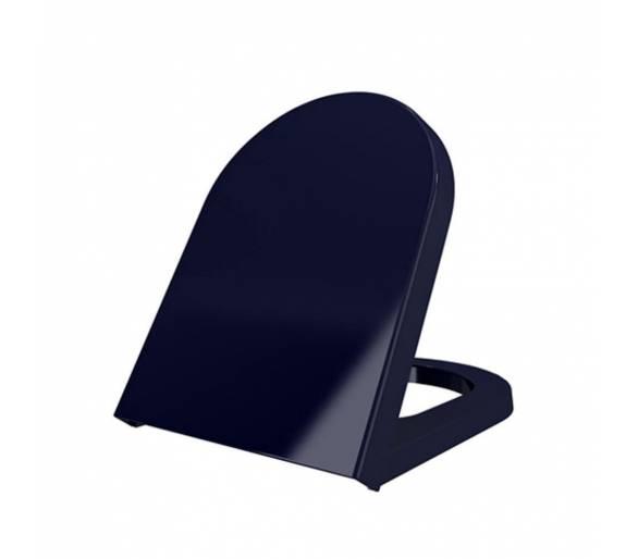Сиденье для унитаза TAORMINA Сапфо. синий дюроп