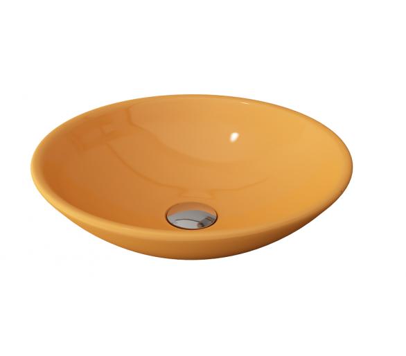 Умывальник LUCCA глянец. желтый. 40 см