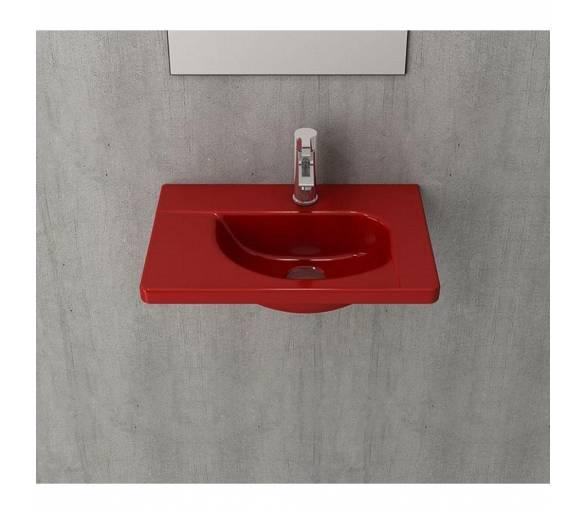 Умывальник TAORMINA ARCH 65х45 глянец. красный