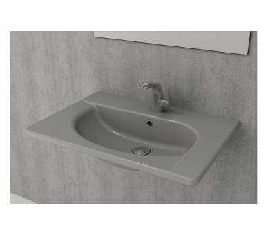 Умывальник TAORMINA ARCH 65х45 серый