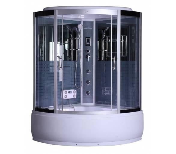 Гидромассажный бокс BADICO G384 NEW 140х140х215 серый