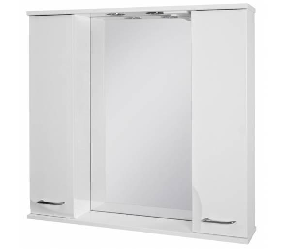 Зеркальный шкаф BOTTICELLI SEQUETTO SqM-100 белый