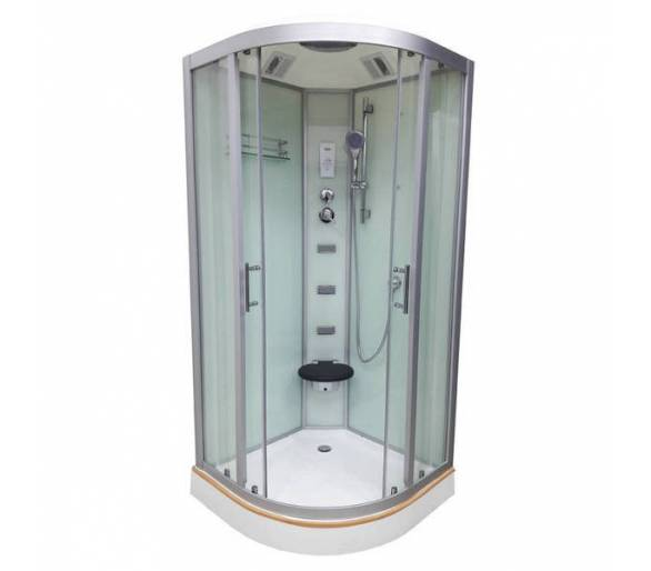 Душевой бокс VERONIS BN-5-100 XL матовое стекло 100х100х220