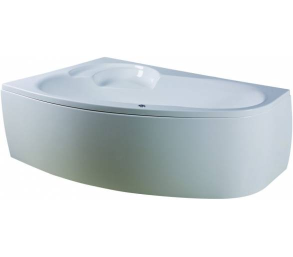 Ванна акриловая AM PM Bliss 160x105 см левосторонняя