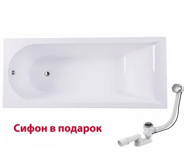 Ванна акриловая AM PM Spirit 170x75 см.+ сифон